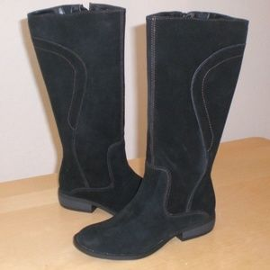 Easy Spirit Falcowm  Womens Black Suede Boots